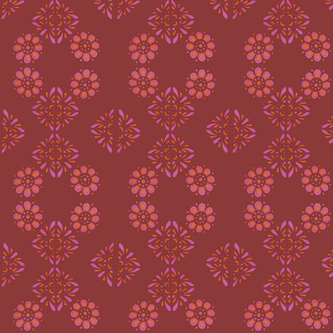 wallflower fabric by snork on Spoonflower - custom fabric