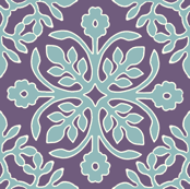 EGGPLANT_2_papercuts_diagonal_AQUA_cream_outlines