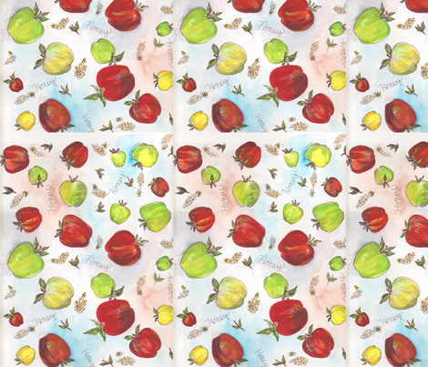 Honey fabric by marlasnyder on Spoonflower - custom fabric