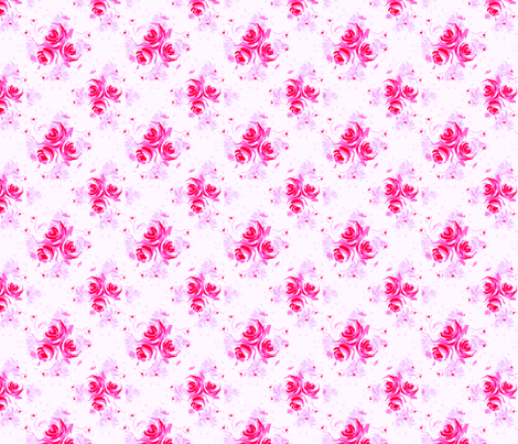 Roses Print 5 fabric by joanmclemore on Spoonflower - custom fabric