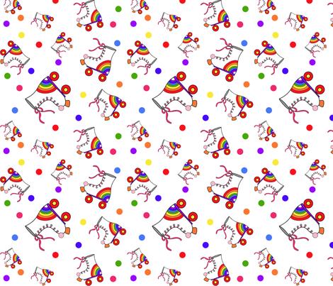 Skate O Rama fabric by tuesdaydesigns on Spoonflower - custom fabric