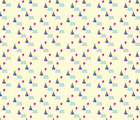 Happy Birthday High Res fabric by brandymiller on Spoonflower - custom fabric