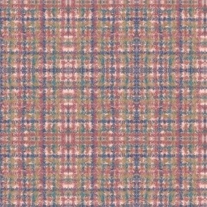 Pink Tweedy Plaid