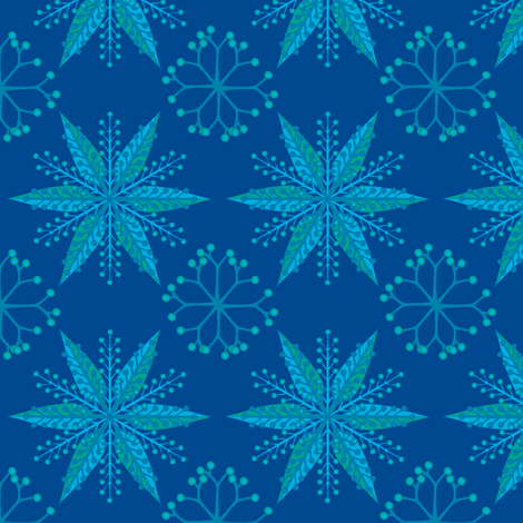 © 2011 Nordic Neptune fabric by glimmericks on Spoonflower - custom fabric