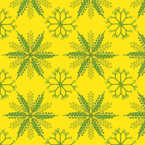 © 2011 Nordic Spritzer Citrus fabric by glimmericks on Spoonflower - custom fabric