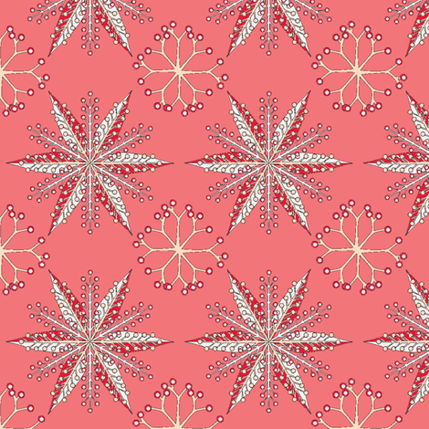 © 2011 Nordic Valentine fabric by glimmericks on Spoonflower - custom fabric