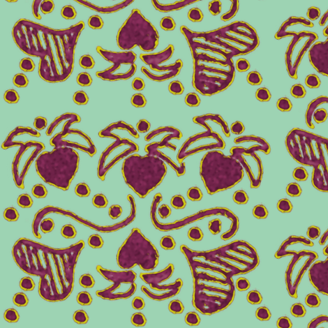 heartvine fabric by nalo_hopkinson on Spoonflower - custom fabric