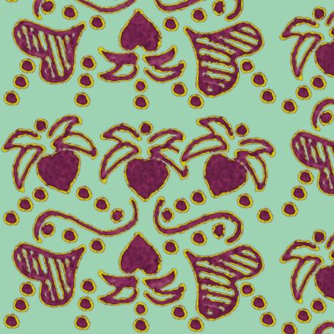 heartvine fabric by nalo_hopkinson on Spoonflower - custom fabric