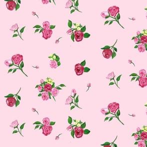 Rain Flowers pink