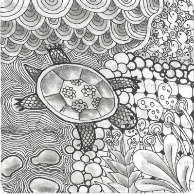 Turtle_LoveZentangle