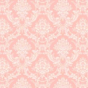 Blush Damask-Toile