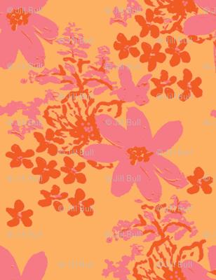 tiger lilly and daisy sorbet ©2012 Jill Bull