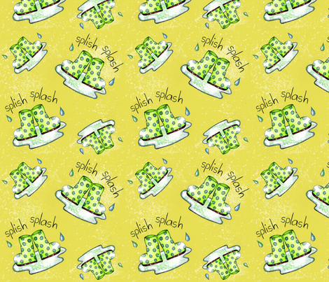 splishsplash2 fabric by kimsiebold on Spoonflower - custom fabric