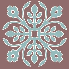 COCOA-BROWN_Papercut2-Rose_soft-aqua_cream_outlines