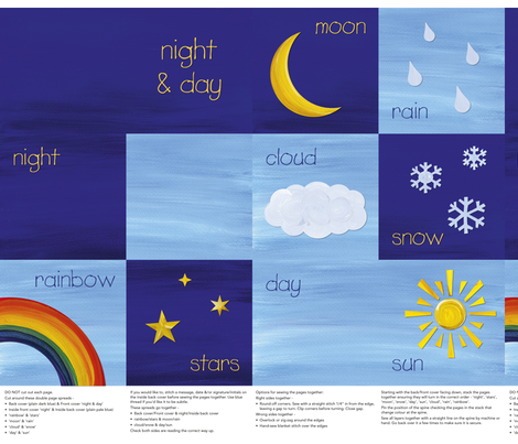 Baby_Weather_Fabric_Book fabric by karenmayo on Spoonflower - custom fabric