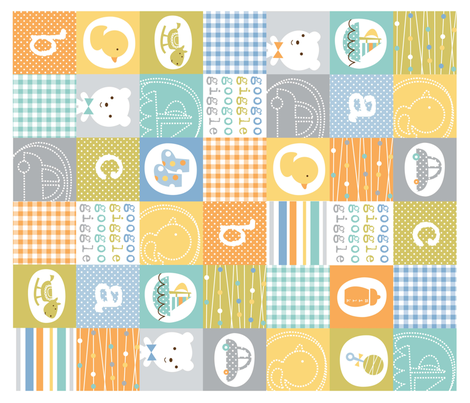 giggleboy quilt fabric by amel24 on Spoonflower - custom fabric
