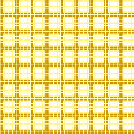 Sun Tartan fabric by fabricfarmer_by_jill_bull on Spoonflower - custom fabric