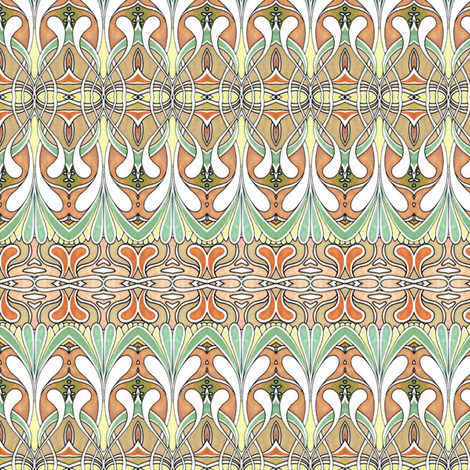 Swirlygig in autumn fabric by edsel2084 on Spoonflower - custom fabric