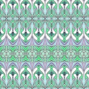 Swirlygig in green