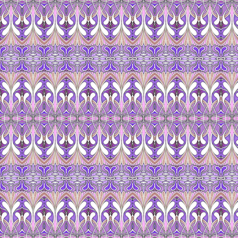 Swirlygig in purple fabric by edsel2084 on Spoonflower - custom fabric