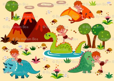 Fun with Dinosaurs | creme