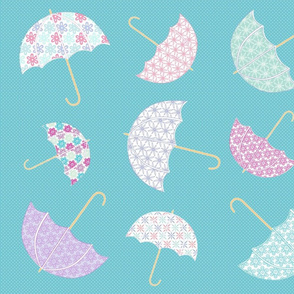 UmbrellasInTheRain