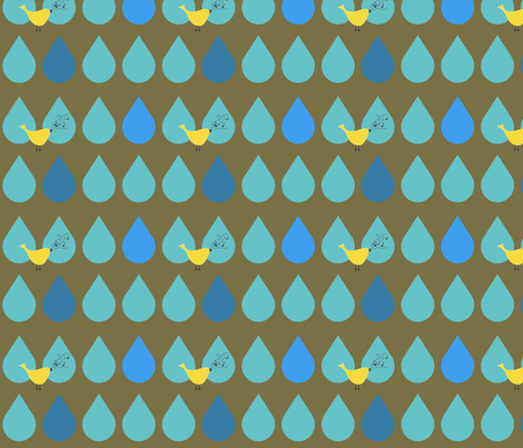 Singin' in the Rain fabric by aa on Spoonflower - custom fabric