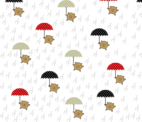 rain fabric by wubba_zang on Spoonflower - custom fabric