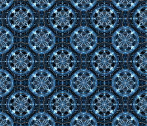 Crystal Water fabric by sibirin on Spoonflower - custom fabric