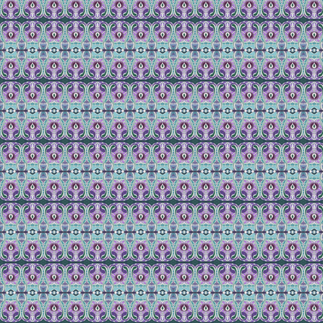 Grandmother's lavender calico fabric by edsel2084 on Spoonflower - custom fabric