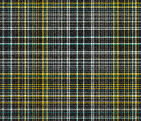 Scottish Vanity Plaid with Texture fabric by peacoquettedesigns on Spoonflower - custom fabric