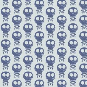 skulls and cross pins