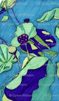 Blue Lotus Pods