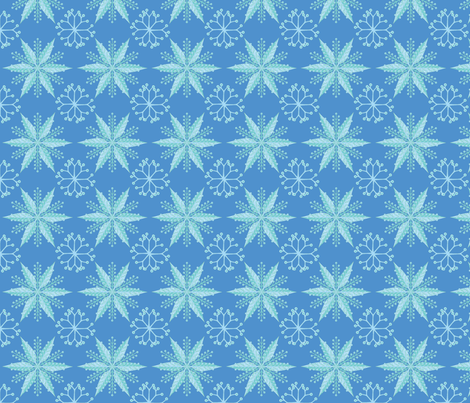 © 2011 Nordic Oceanic fabric by glimmericks on Spoonflower - custom fabric