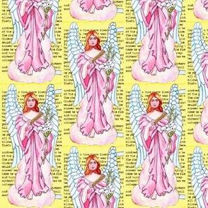 Pink Fabric Scrap