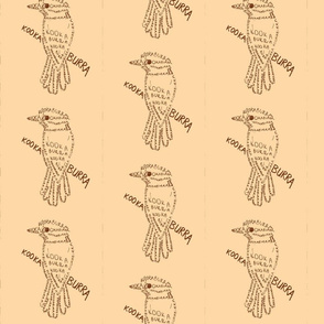 Kookaburra Calligram 2