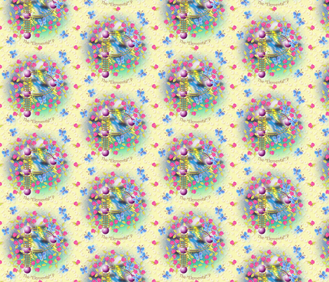 "© 2011 The ""Elemental"" P fabric by glimmericks on Spoonflower - custom fabric"