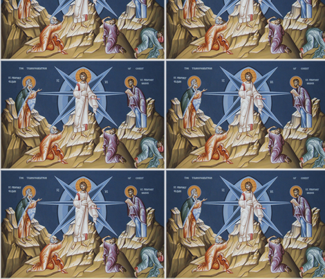 transfiguration fabric by rengal on Spoonflower - custom fabric