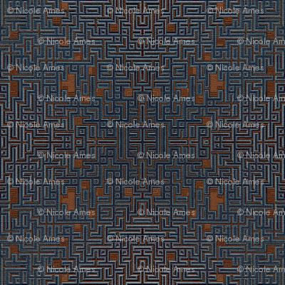 BlueBrown Maze