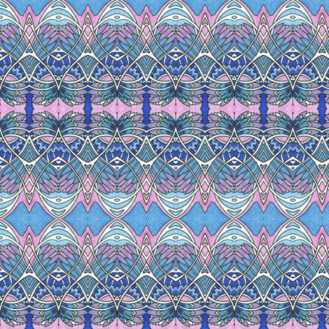 Motion on the Ocean fabric by edsel2084 on Spoonflower - custom fabric