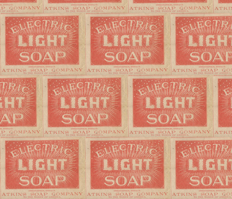 Atkins Electric Light Soap fabric by edsel2084 on Spoonflower - custom fabric