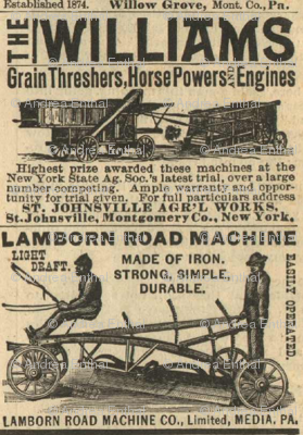 Horse Powers and Engines