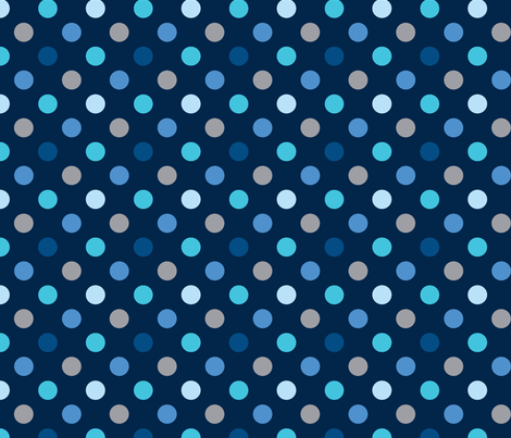 pois_mutilco_bleu fabric by nadja_petremand on Spoonflower - custom fabric