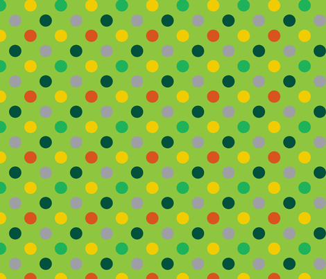 pois_mutico_vert fabric by nadja_petremand on Spoonflower - custom fabric