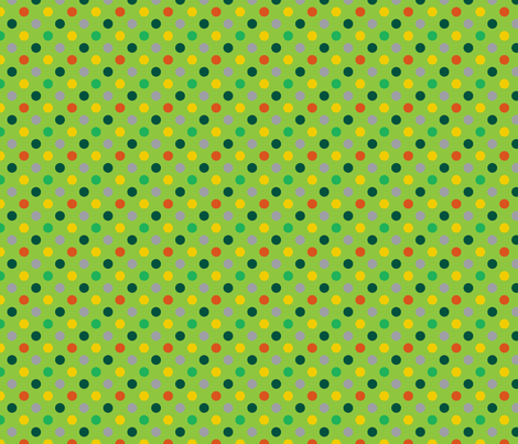 pois_mutico_vert_M fabric by nadja_petremand on Spoonflower - custom fabric