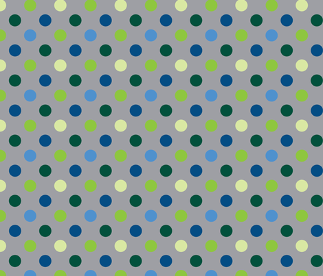 pois_multico_gris fabric by nadja_petremand on Spoonflower - custom fabric