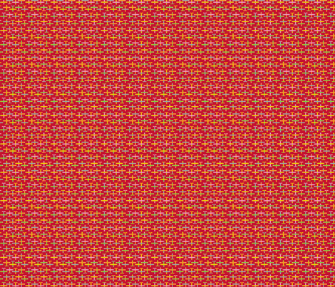 avion_de_léon_rouge_4_for_1 fabric by nadja_petremand on Spoonflower - custom fabric