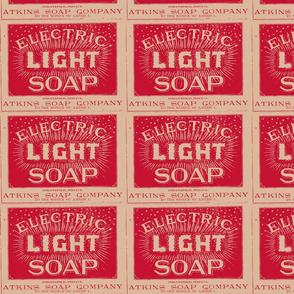 Atkins Electric Light Soap ad