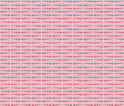 pink matryoshkas fabric by littledear on Spoonflower - custom fabric