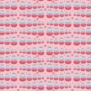 pink matryoshkas